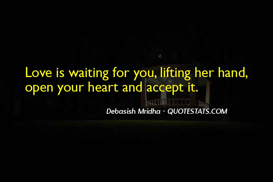 Quotes About Waiting For Her Love #1301597