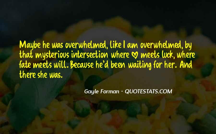 Quotes About Waiting For Her Love #1302051