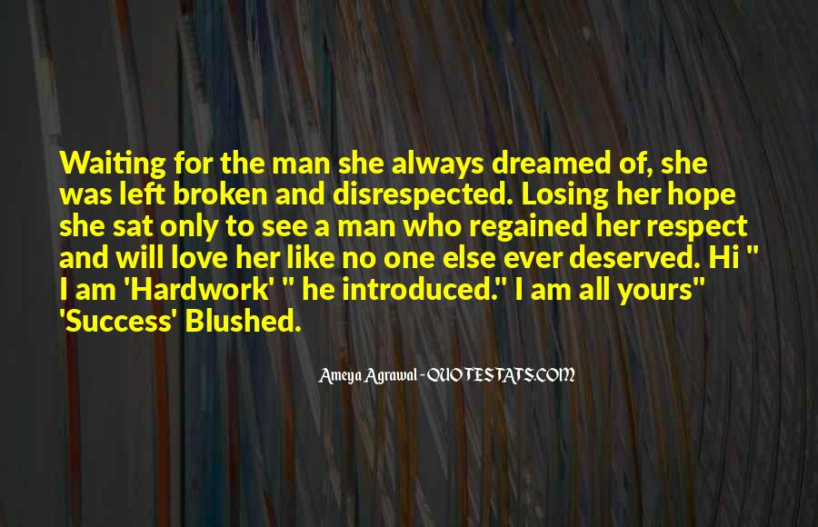 Quotes About Waiting For Her Love #963325