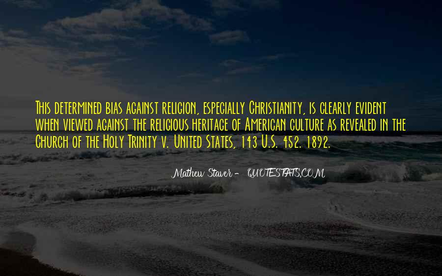 Quotes About The Holy Trinity #114174