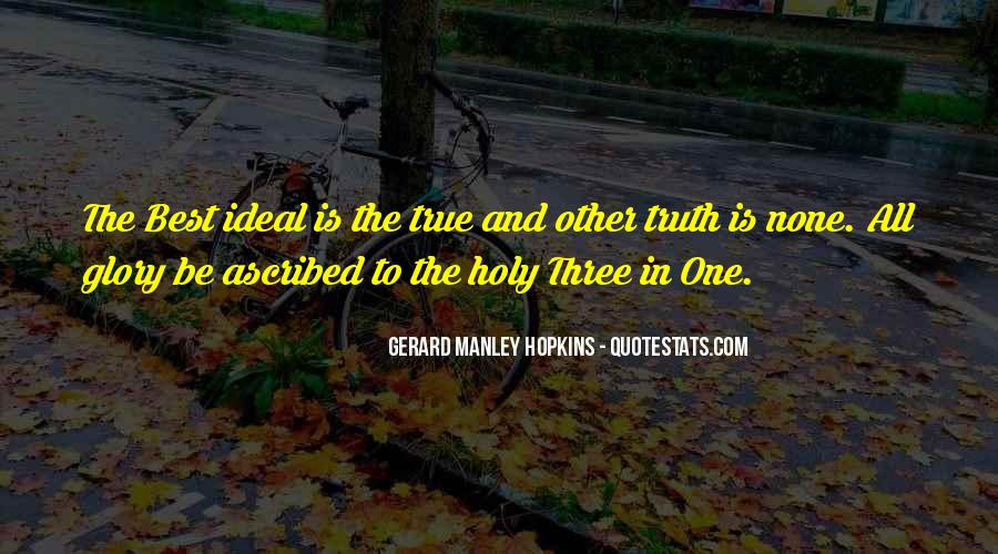 Quotes About The Holy Trinity #1329986