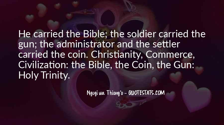 Quotes About The Holy Trinity #1396095