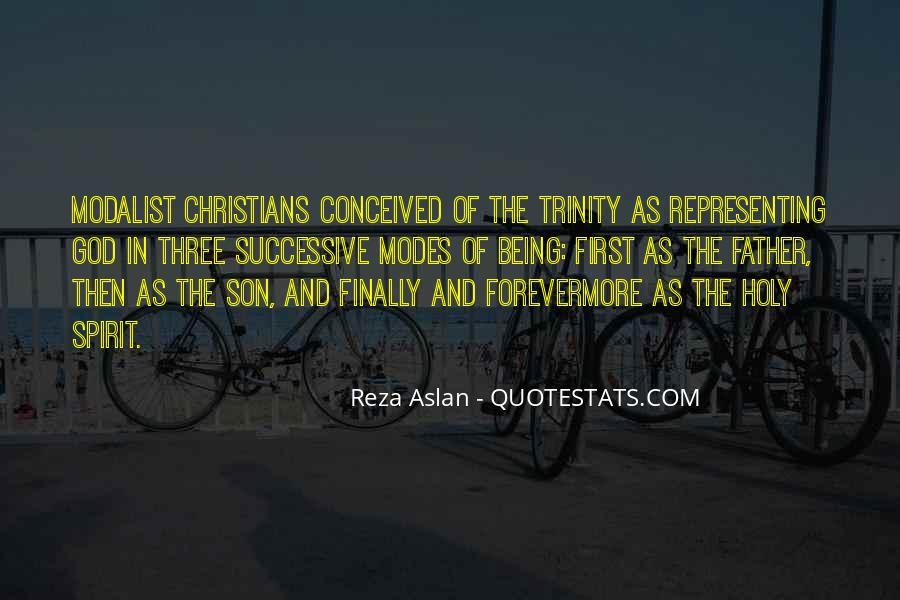 Quotes About The Holy Trinity #1562630