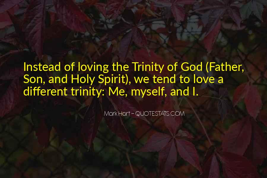 Quotes About The Holy Trinity #179084