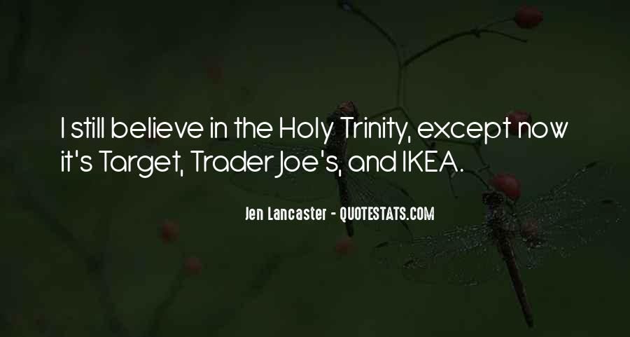 Quotes About The Holy Trinity #764723