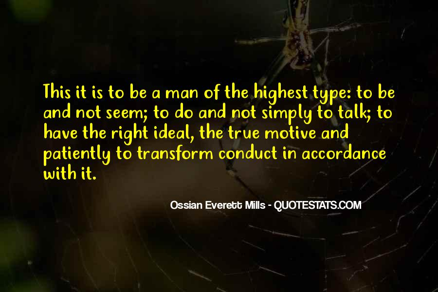 Quotes About My Ideal Man #173061