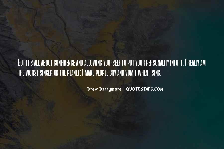 Quotes About Confidence About Yourself #1769151