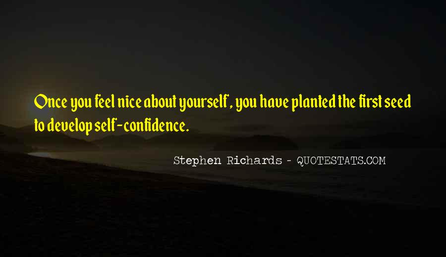 Quotes About Confidence About Yourself #1875260
