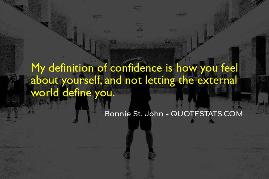 Quotes About Confidence About Yourself #251094