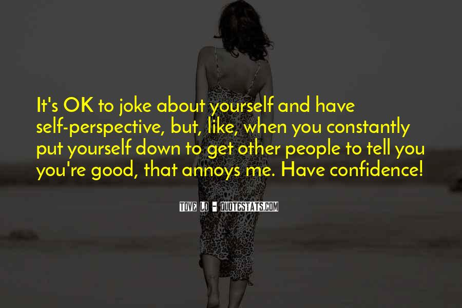 Quotes About Confidence About Yourself #649276