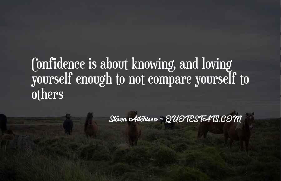 Quotes About Confidence About Yourself #880729
