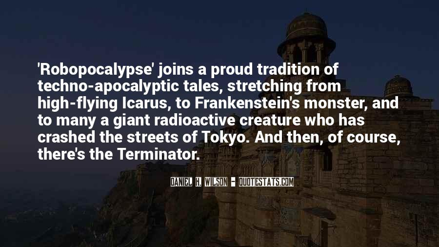 Quotes About The Terminator #1156012