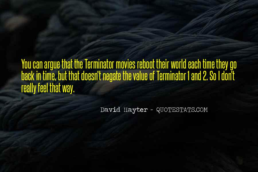 Quotes About The Terminator #1277785