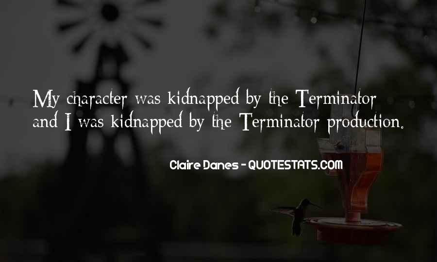 Quotes About The Terminator #278350