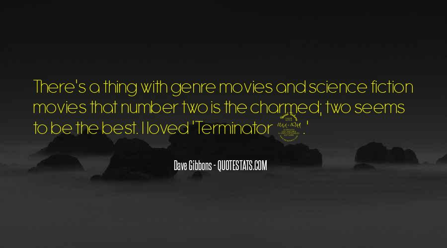 Quotes About The Terminator #295671