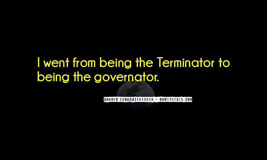 Quotes About The Terminator #478285