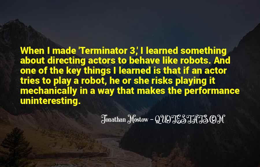 Quotes About The Terminator #60005