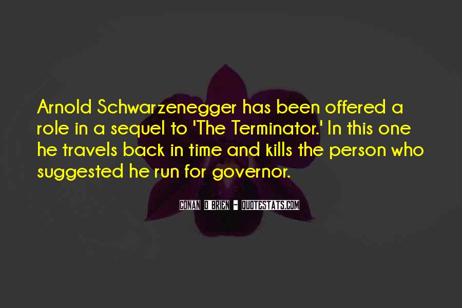 Quotes About The Terminator #704263