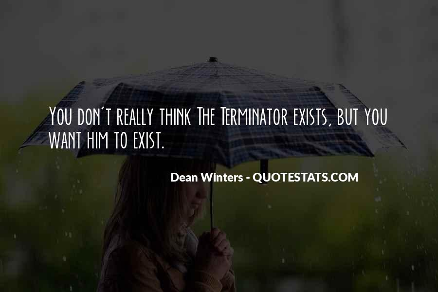 Quotes About The Terminator #880804