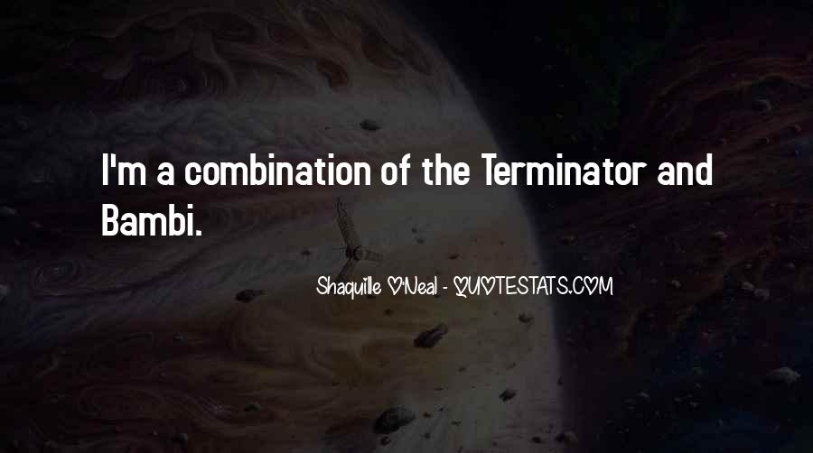 Quotes About The Terminator #99840