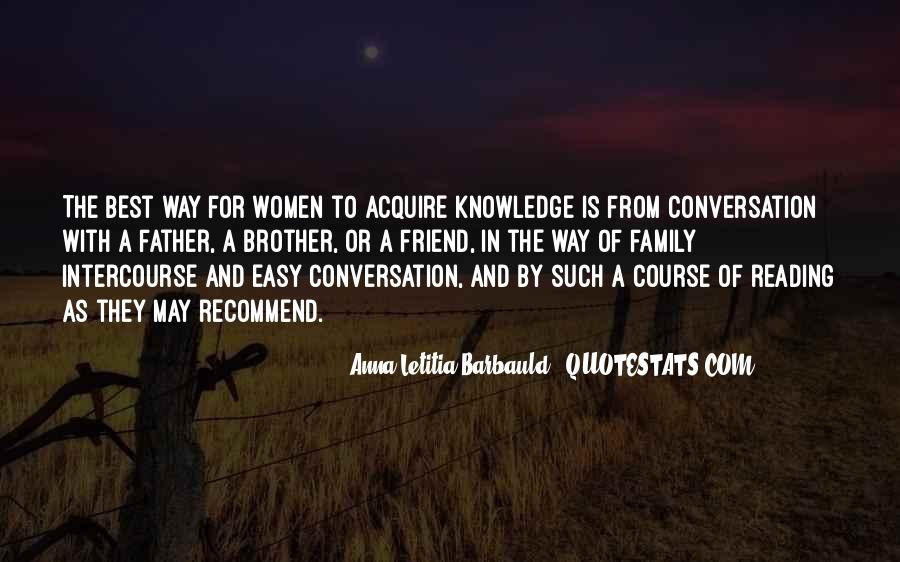 Quotes About Knowledge And Reading #1107566