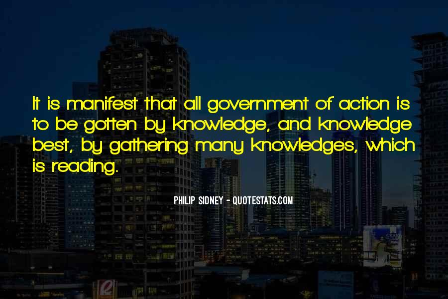 Quotes About Knowledge And Reading #1283247