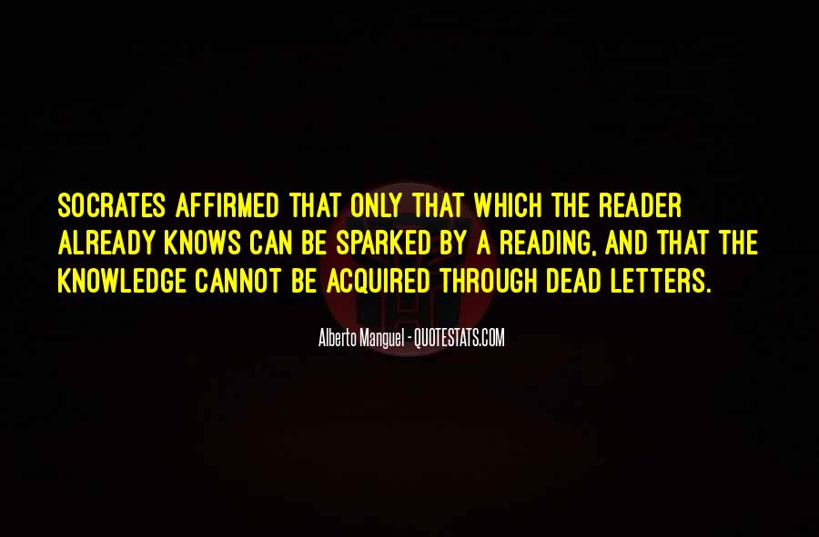Quotes About Knowledge And Reading #1314491
