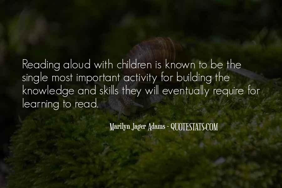 Quotes About Knowledge And Reading #138514