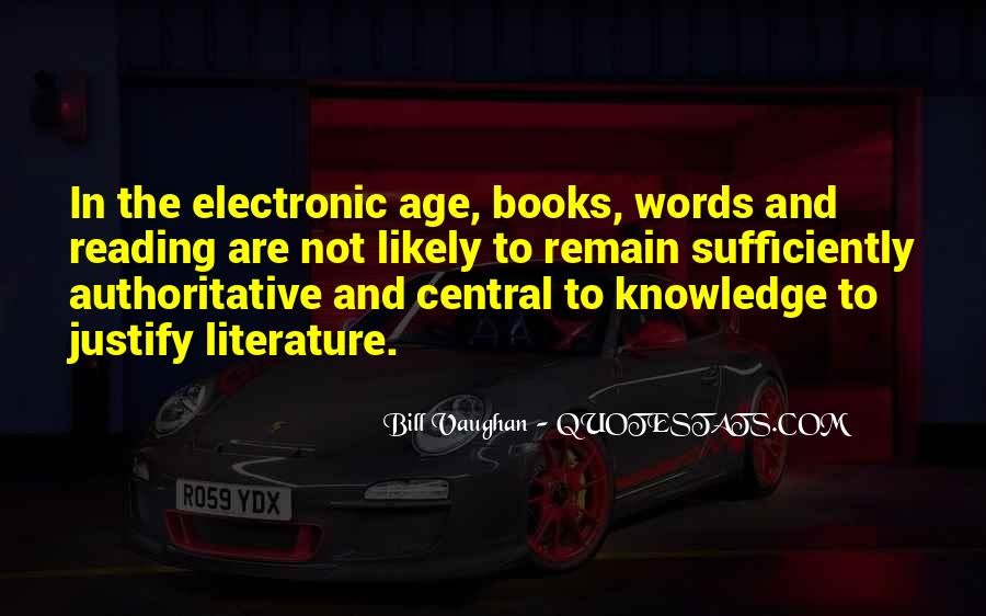 Quotes About Knowledge And Reading #1413527