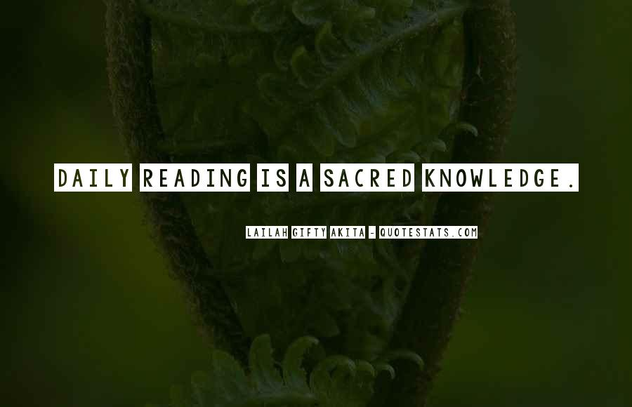 Quotes About Knowledge And Reading #1552564