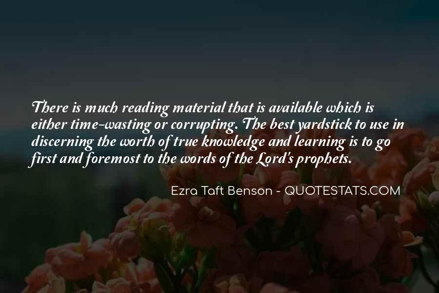 Quotes About Knowledge And Reading #1619282