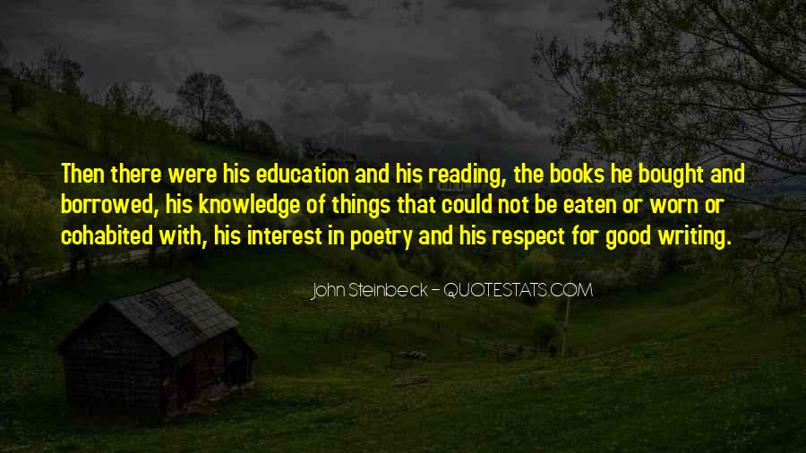 Quotes About Knowledge And Reading #1796375