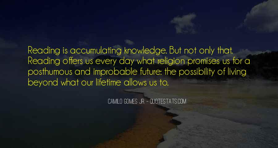Quotes About Knowledge And Reading #1816997