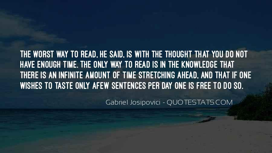 Quotes About Knowledge And Reading #472390