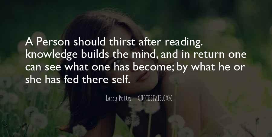 Quotes About Knowledge And Reading #525310