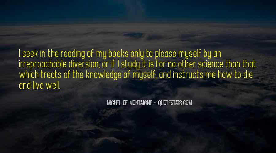 Quotes About Knowledge And Reading #588483