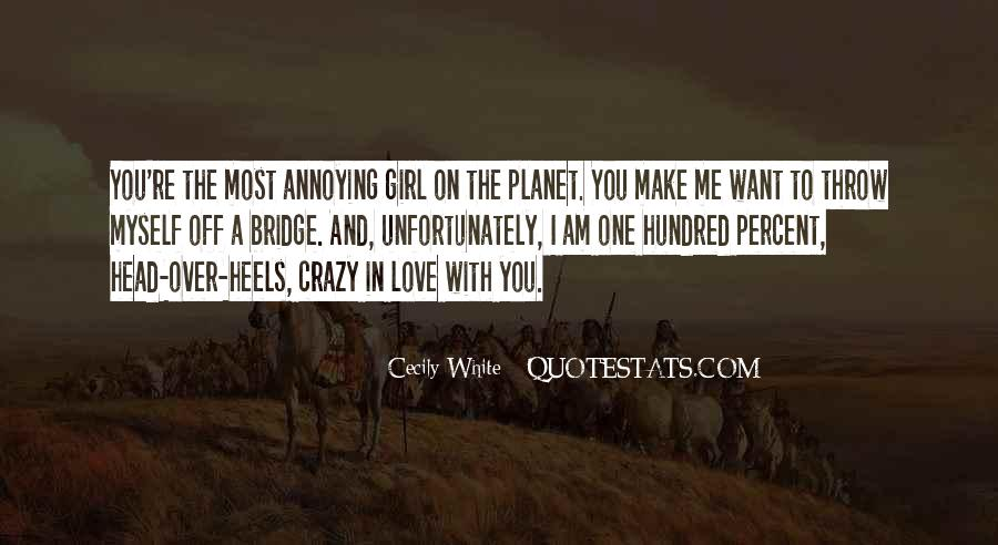 Quotes About Crazy Girl #1004625