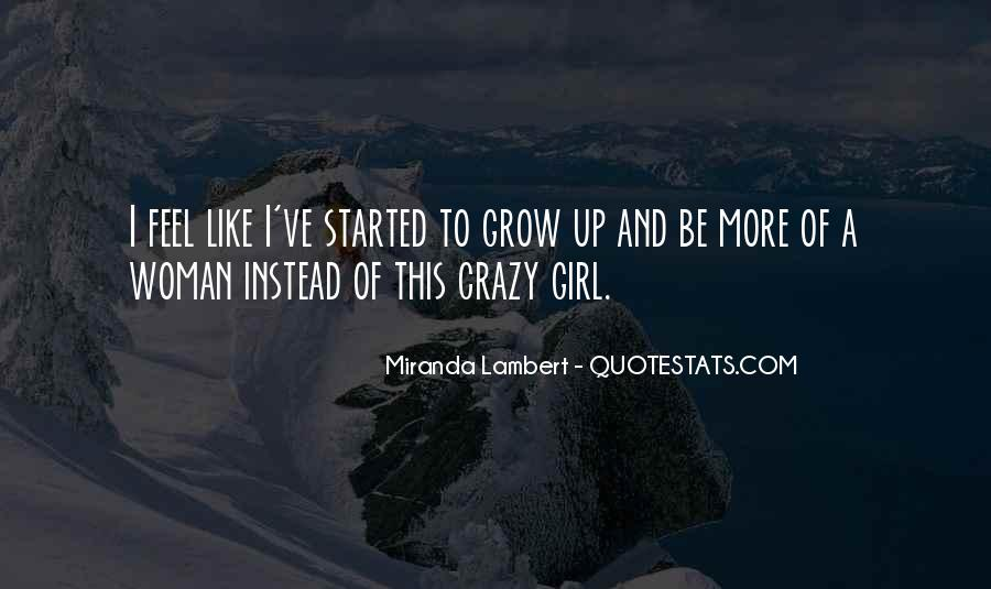 Quotes About Crazy Girl #110203