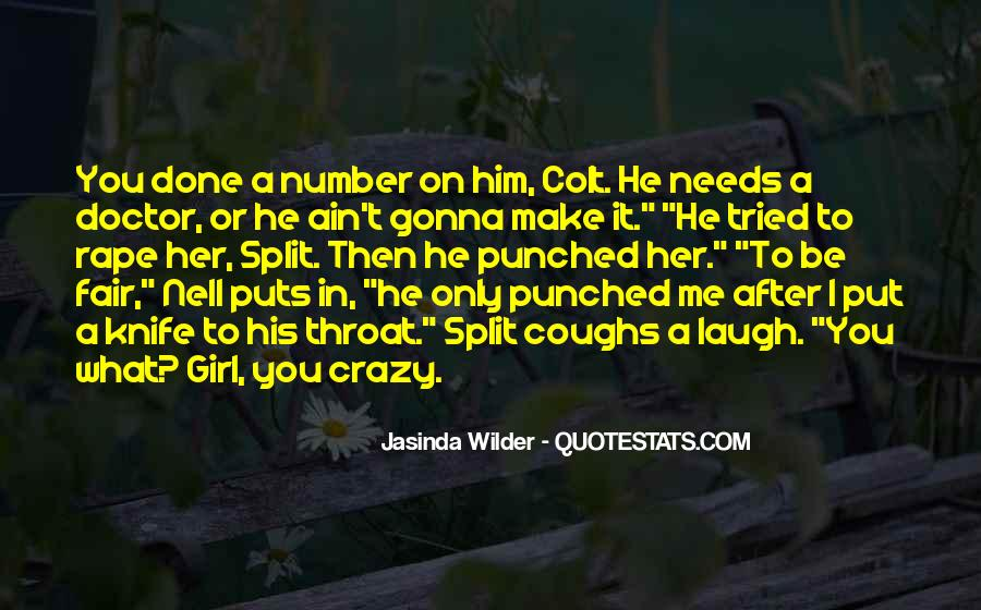 Quotes About Crazy Girl #1172248