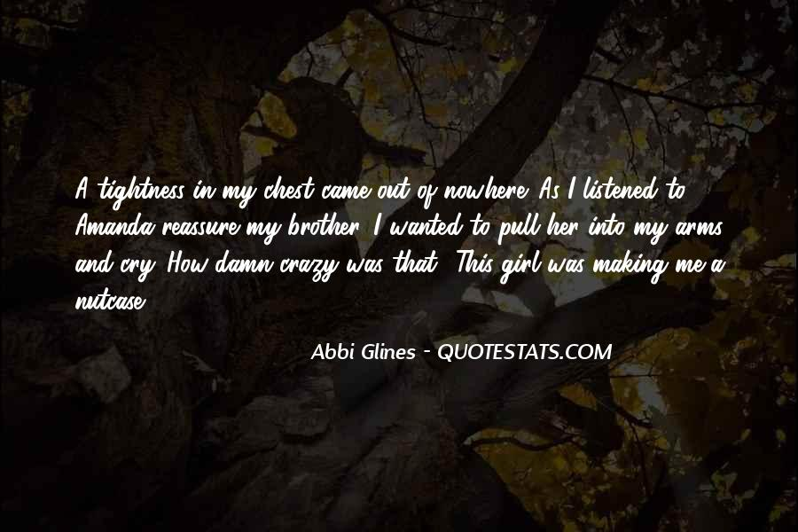 Quotes About Crazy Girl #1460195