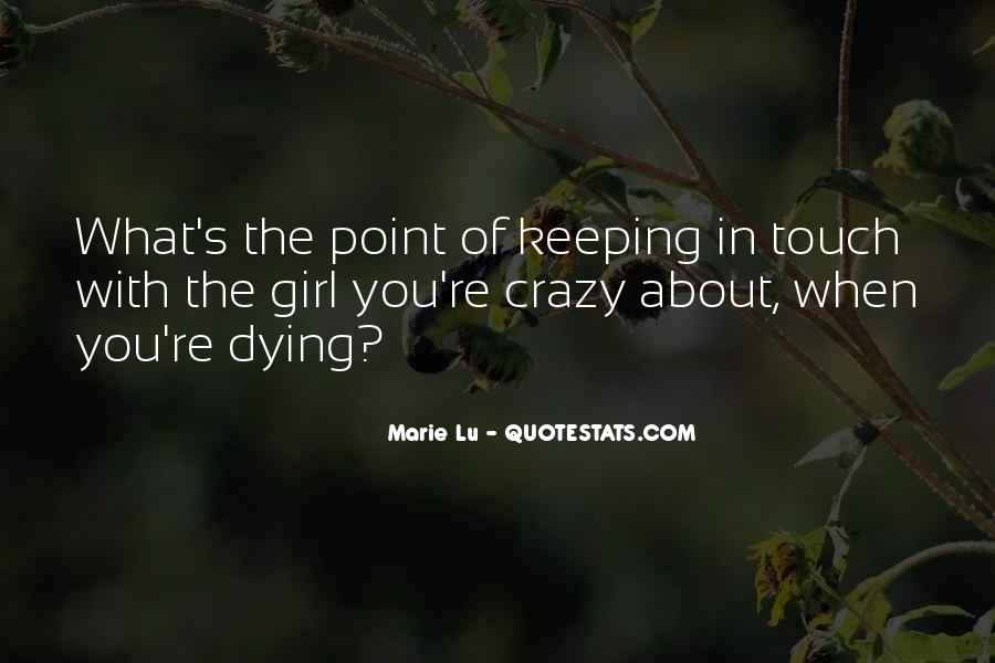 Quotes About Crazy Girl #192959