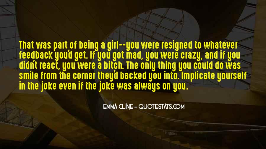 Quotes About Crazy Girl #750602