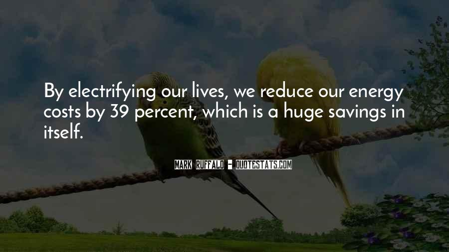 Quotes About Saving Costs #1069899