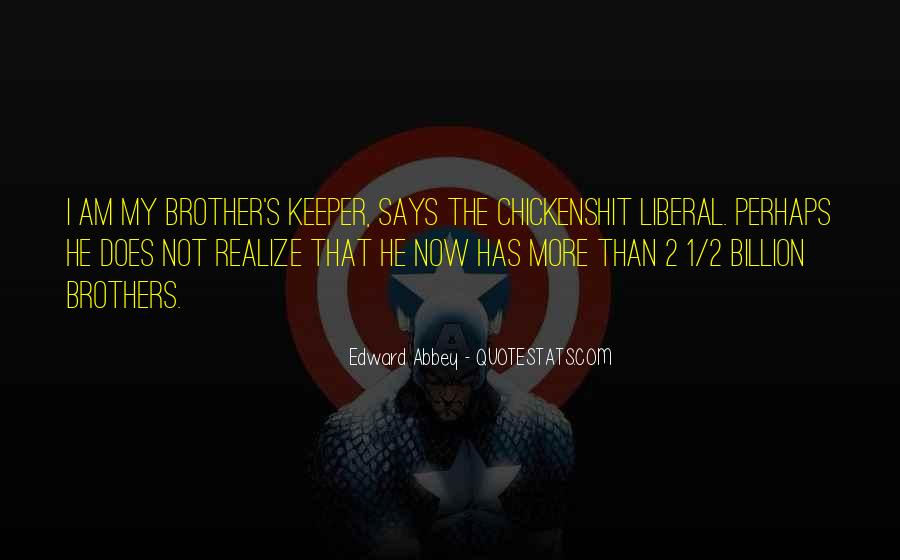 Quotes About Brothers Keeper #566885