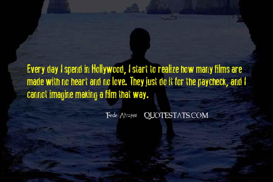 Quotes About Hollywood Films #118192