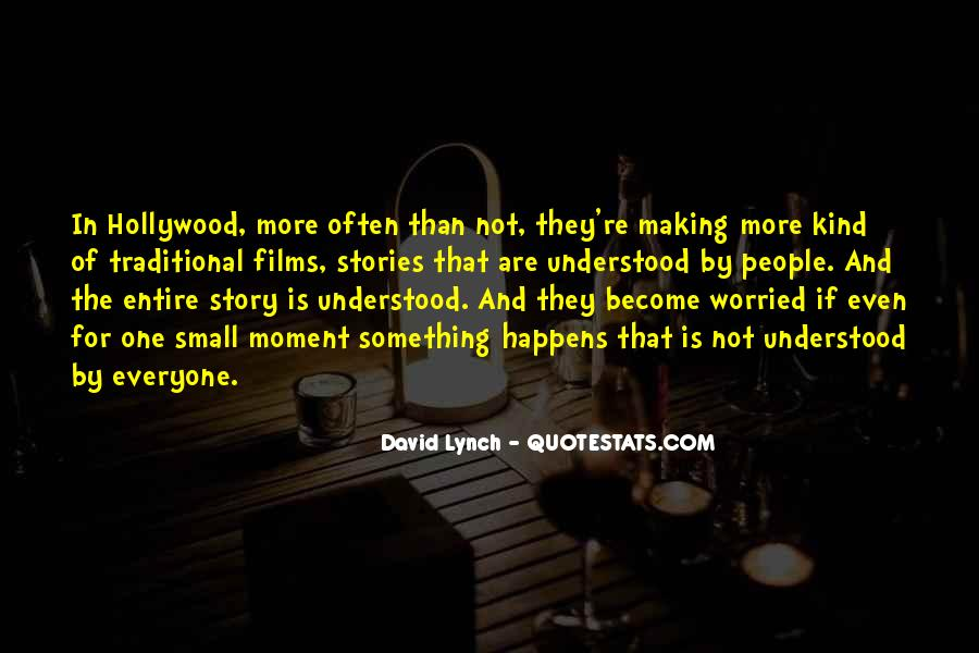 Quotes About Hollywood Films #1210030