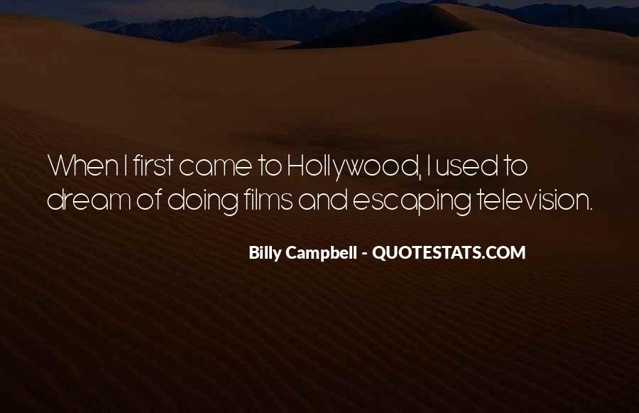 Quotes About Hollywood Films #1255337