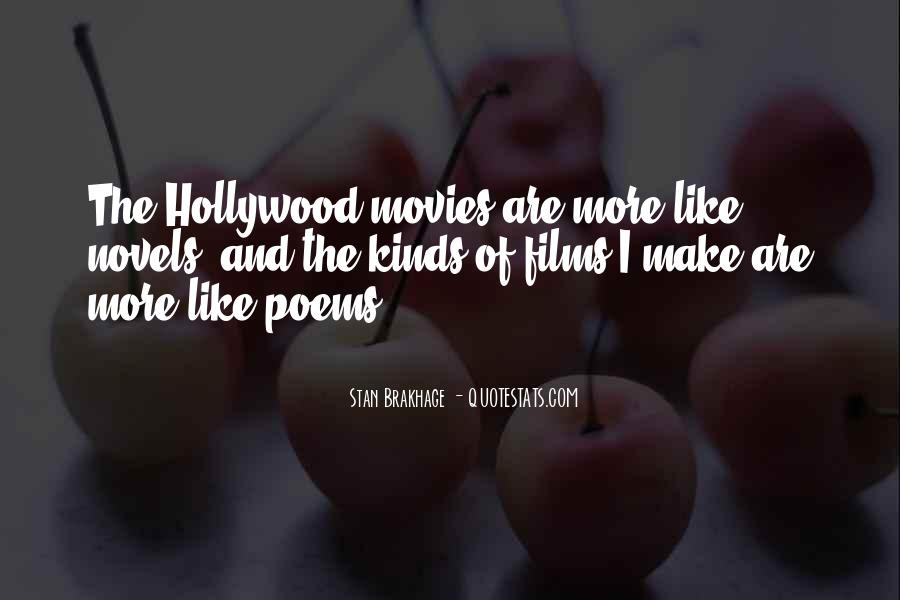 Quotes About Hollywood Films #1318059