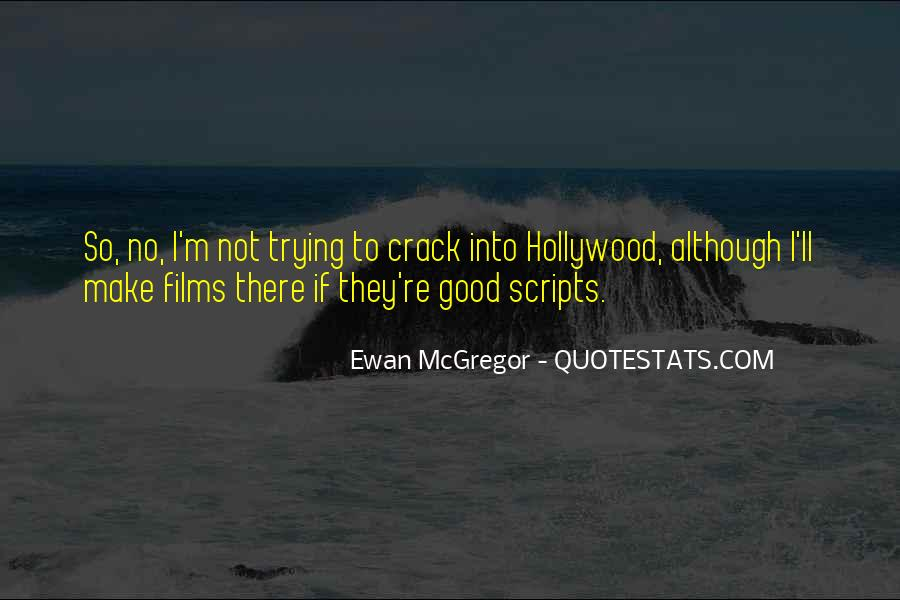 Quotes About Hollywood Films #159438