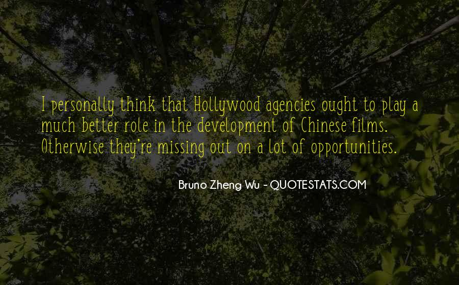 Quotes About Hollywood Films #201088